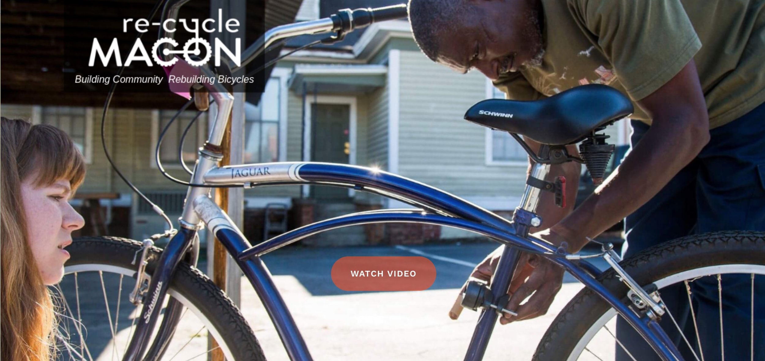 Visit  https://www.re-cyclemacon.org to watch their wonderful new video featuring Ocie Lewis.
