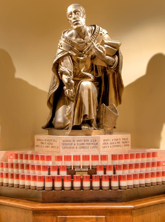 St. Augustine Candle Bank