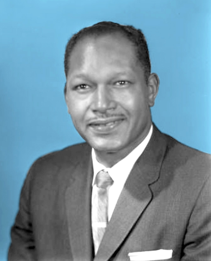 A 1963 portrait of Councilman Tom Bradley. Photo: Charles Williams