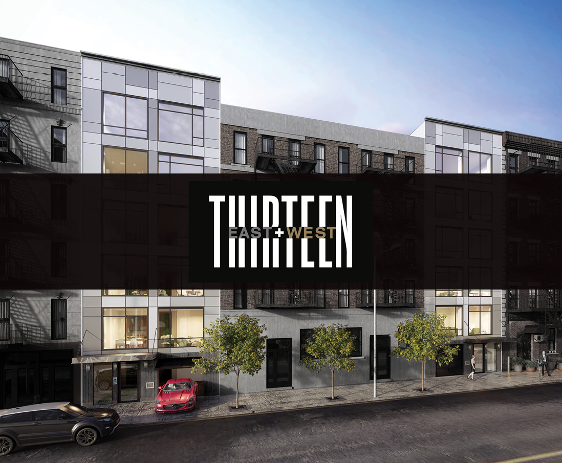 THIRTEEN EAST + WEST - 436 & 442 East 13th Street