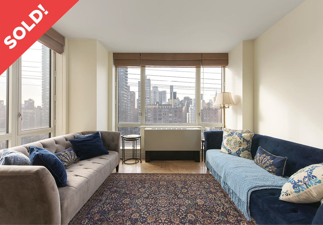 401 East 60th Street: 15A - $2,200,000 // 2 Beds // 2.5 Baths // 1,569 SQFTCome home to unmatched city and bridge views from this light-flooded, high floor convertible 3 bedroom, 2.5 bathroom home at Bridge Tower Condominium.