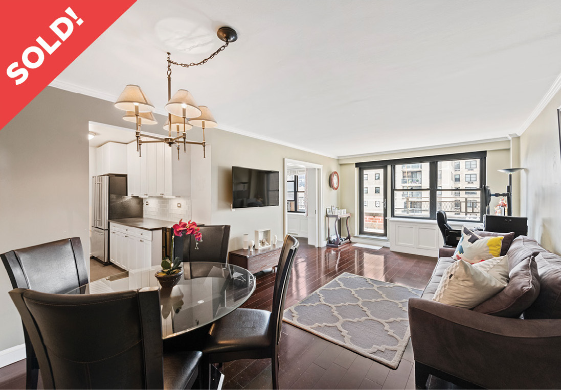 345 East 81st Street: 18N - $1,150,000 // 2 Beds // 1 Bath // Co-opA luminous corner co-op graced with massive private outdoor space, this stunning high-floor 2-bedroom, 1-bathroom is the epitome of classic city charm.
