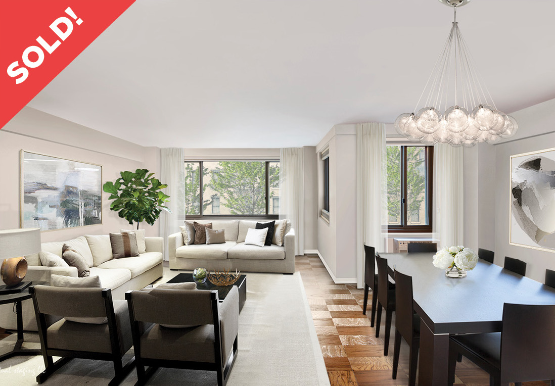 420 East 64th Street: E4E - $819,895 // 1 Bed // 1 Bath // 845 SQFTThis oversized 1 bedroom, easily convertible to 2 offers plenty of sunlight, storage and versitile living space all within a prestegious, full amenity doorman building.
