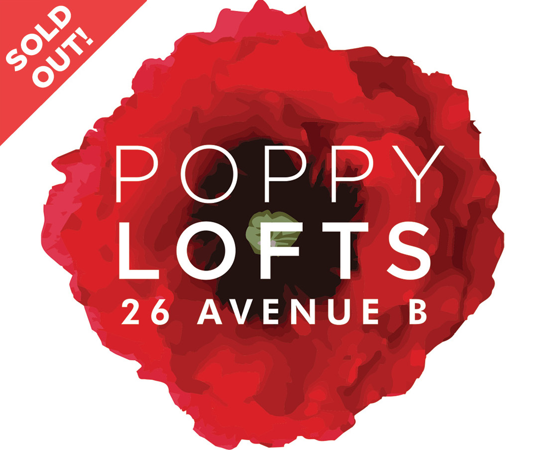 POPPY LOFTS - 26 Avenue B