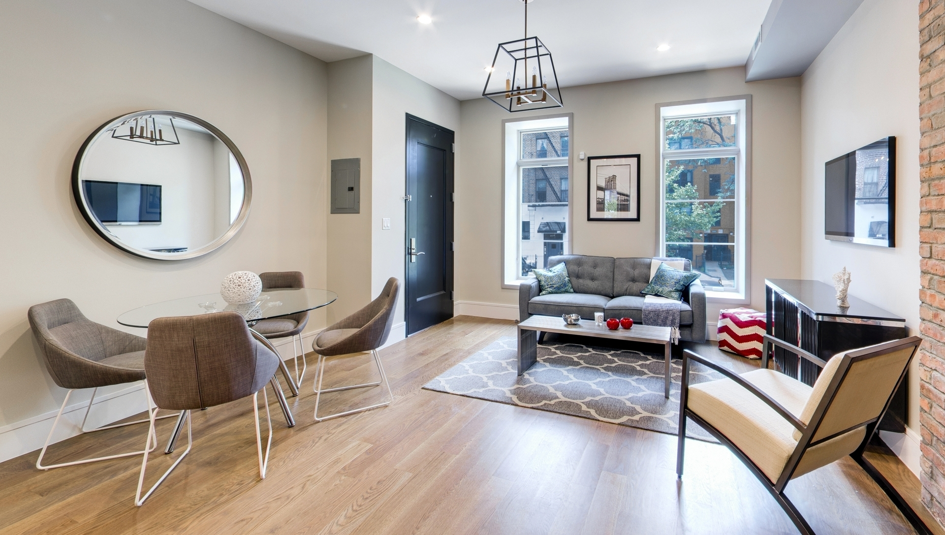 312 Clifton Place: Apt 4 - $825,000 // 2 Beds // 2 Baths A sublime condo boasting high-end finishes and tons of natural light, this 2-bedroom, 2-bathroom home is a chic portrait of contemporary Brooklyn living.