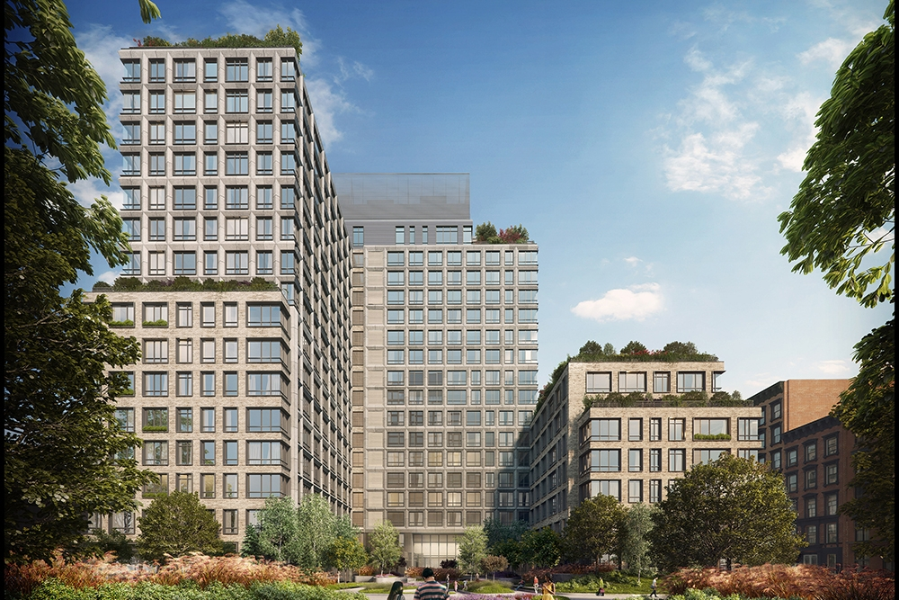 550 Vanderbilt Avenue: 902 - $1,700,000 // 2 Beds // 2 Baths // 1,181 SQFT550 Vanderbilt is the first residential building to open in Pacific Park Brooklyn, the revolutionary new Frank Gehry designed 22-acre project coming to Prospect Heights.