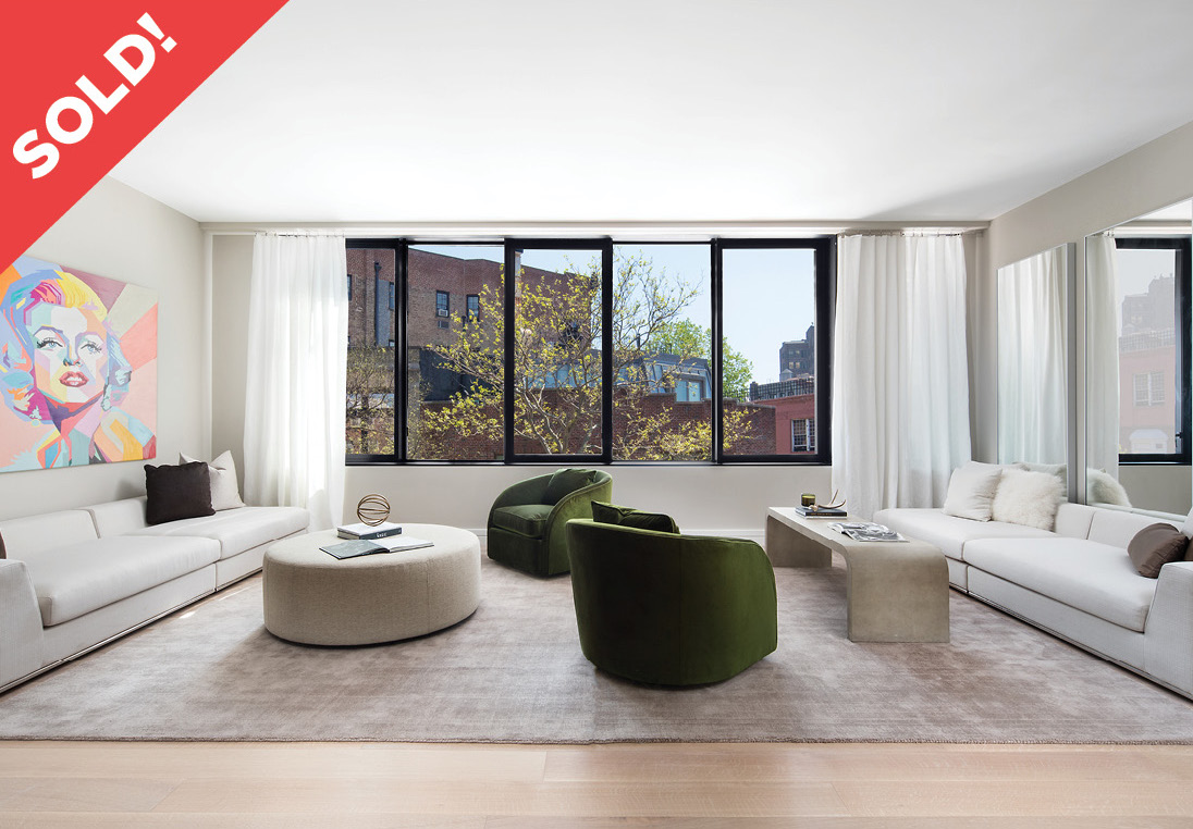 175 West 10th Street: Apt 5 - $6,750,500 // 3 Beds // 3.5 Baths // 2,702 SQFTA veritable paragon of urban chic that reimagines the charm and elegance of the West Village through a contemporary lens, this remarkable 3-bedroom, 3.5-bathroom residence is one of four floor-through homes beyond compare.