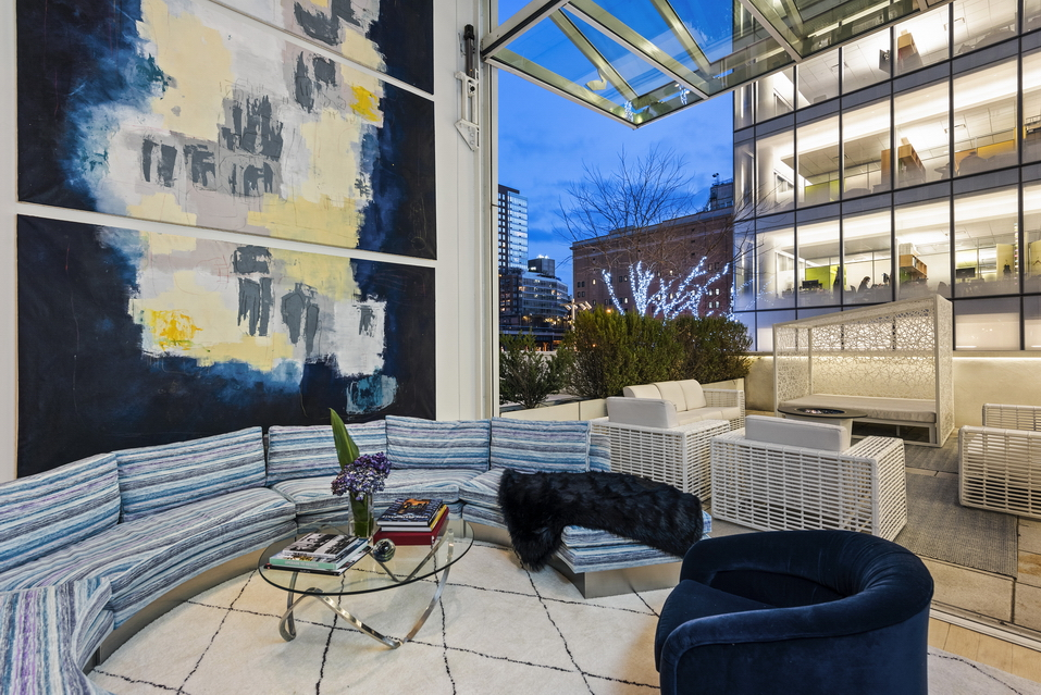 524 West 19th Street: Apt 1 - $4,500,000 // 3 Beds // 3 Baths // 1,986 SQFTA luminous duplex condo with airy 20-ft ceilings and a pair of private outdoor spaces that includes an appx. 350 sq. ft. south-facing garden accessible through a fully retractable floor-to-ceiling glass wall