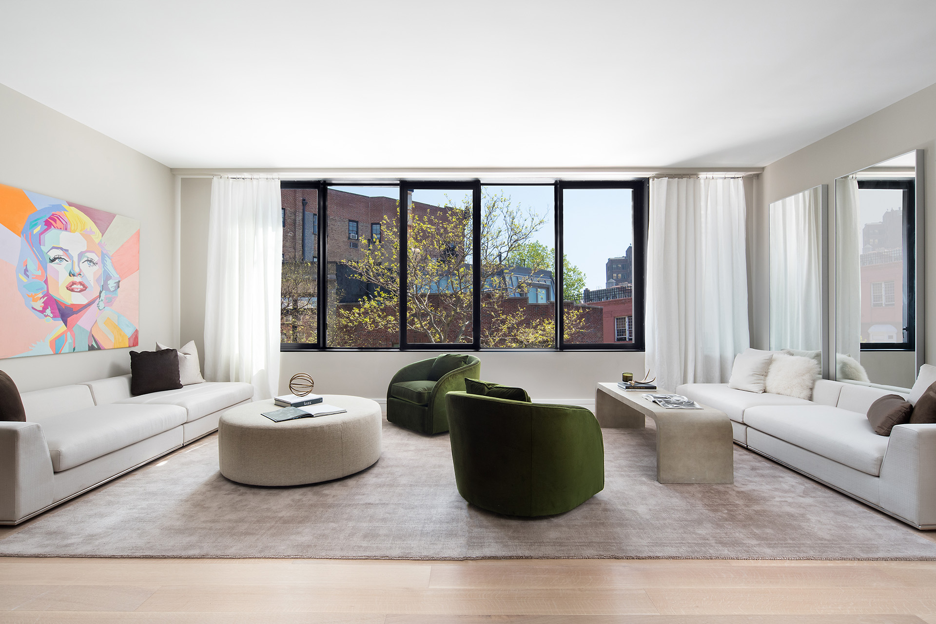 175 West 10th Street: Apt 4 - $6,200,000 // 3 Beds // 3.5 Baths // 2,702 SQFTA veritable paragon of urban chic that reimagines the charm and elegance of the West Village through a contemporary lens, this remarkable 3-bedroom, 3.5-bathroom residence is one of four floor-through homes beyond compare.