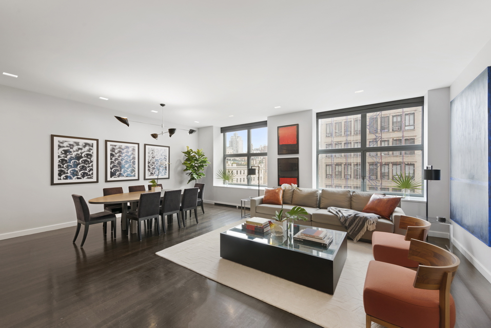 240 Park Avenue S: 8B - $4,500,000 // 3 Beds // 3.5 Baths // 2,139 SQFTAn impeccably finished condo saturated with natural light, this amazing 3-bedroom, 3.5-bathroom home is a paradigm of contemporary city luxury.