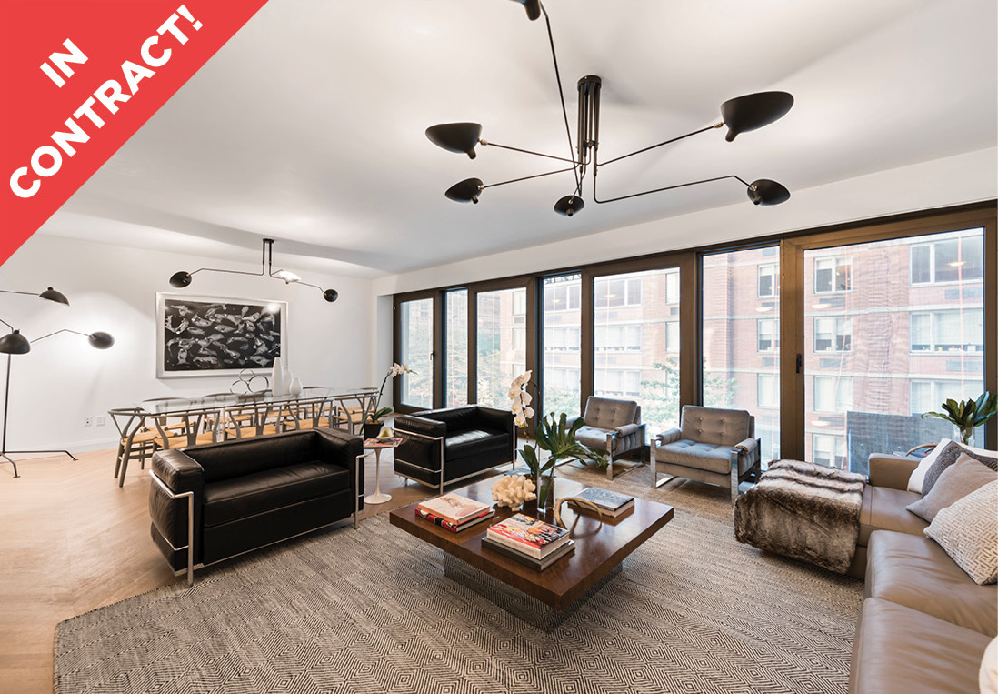 117 West 21st Street: 8th Floor - $5,300,000 // 4 Beds // 3.5 Baths // 2,753 SQFTThe extraordinary embodiment of sleek, innovative contemporary design, The Twenty 1 condominium is a brand new boutique residence setting a premium standard of luxury at the crossroads of prime Chelsea/West Flatiron.