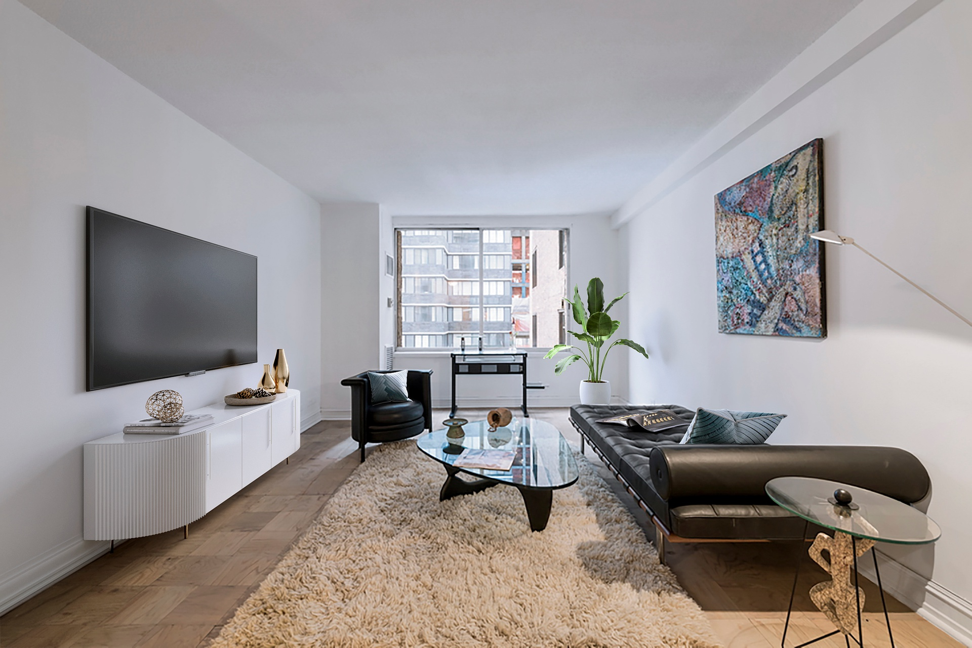 44 West 62nd Street, 5E - $695,000 // 1 Bed // 1 Bath // 715 SQFT A quiet, east-facing co-op filled with natural light, this 1-bedroom, 1-bathroom home is the embodiment of traditional New York City living.