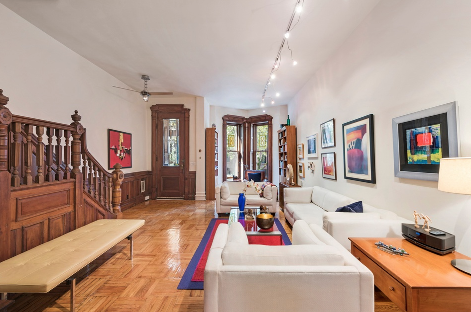 127 SAINT JOHNS PL - $2,460,000 // 6 Bed // 3.5 Bath // 1,733 SQFT Situated on a desirable tree-lined street in the trendy neighborhood of Park Slope, 127 St. Johns Pl is a charming 2-family brownstone graced with a host of original details and an immaculate, income-producing rental.