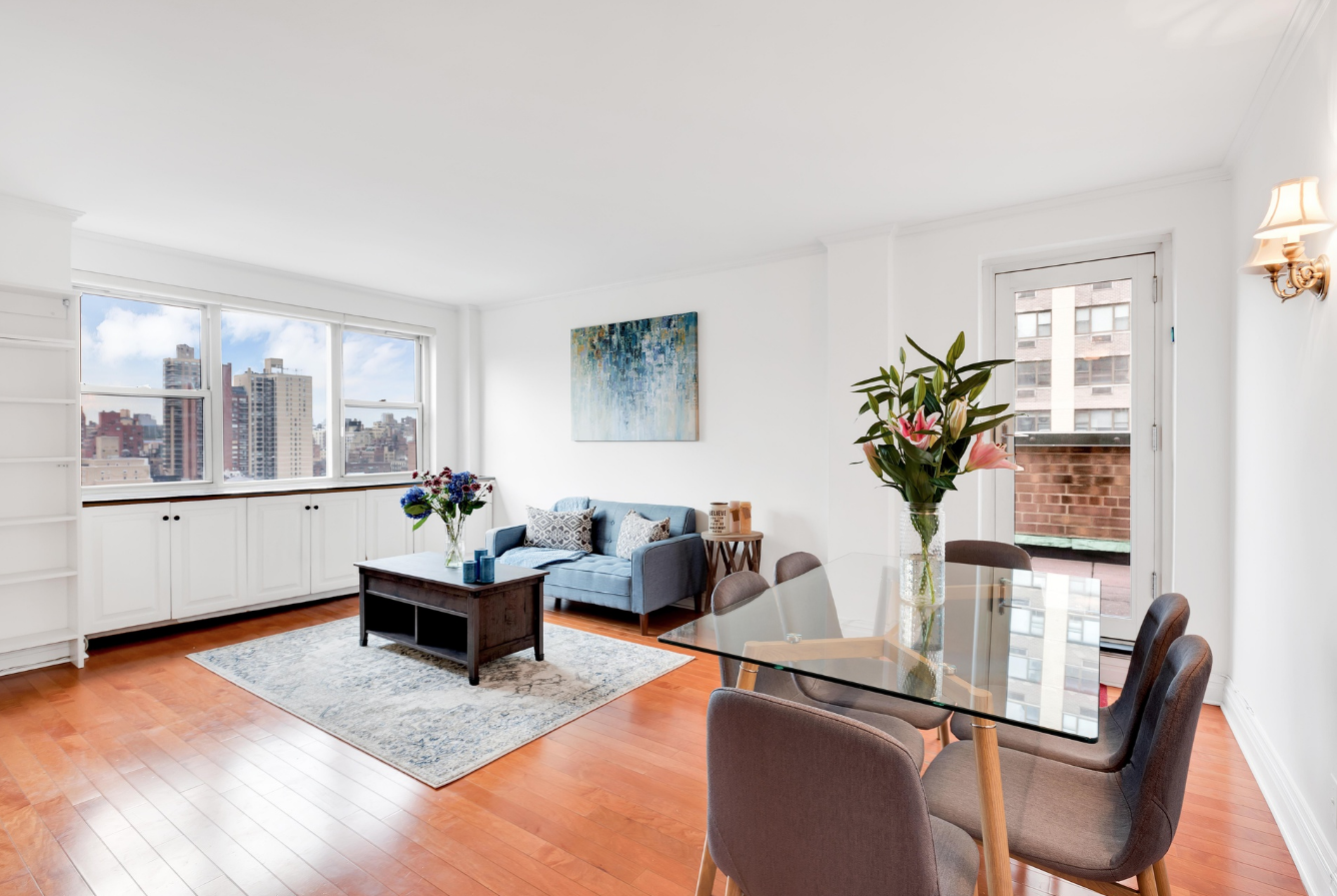 340 EAST 80TH STREET, 20D - $795,000 // 1 Bed // 1 Bath // CO-OPHigh floor renovated 1 bedroom apartment with unobstructed city views and your very own 34' by 8' private balcony.