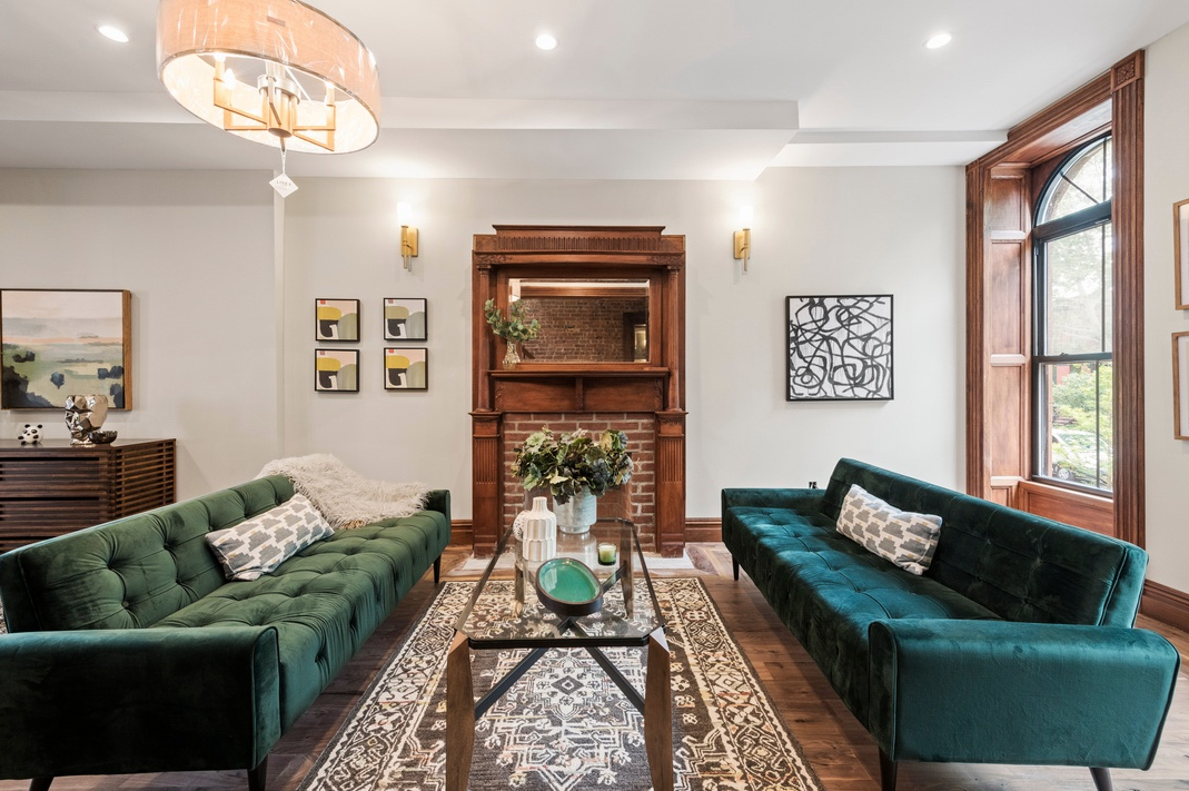 729 HANCOCK STREET - $2,149,000 // 5 Beds // 4 Baths // 2,916 SQFTA gut-renovated two-family brownstone graced with chic finishes and a host of restored original details, 729 Hancock is a study in contemporary Brooklyn luxury.
