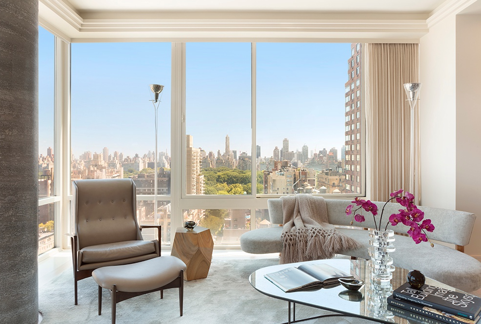 111 WEST 67TH STREET, 25D - $13,995,000 // 5 Beds // 4.5 Baths // 3,818 SQFTMasterfully designed corner home with sweeping views of Central Park and the city skyline, this stunning 5-bedroom, 4.5-bathroom condo is a testament to contemporary Manhattan luxury.