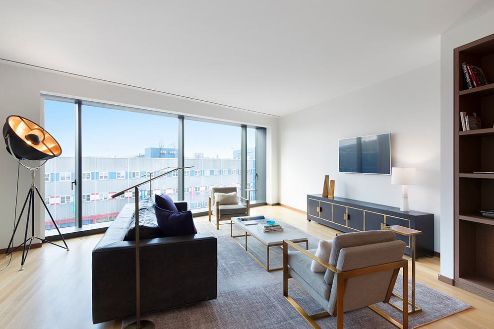 551 WEST 21ST STREET, 4A - $4,300,000 // 2 Beds // 2.5 Baths // 2,113 SQFTThis Foster + Partners designed 2-bedroom, 2.5-bathroom home is an exemplar of contemporary Chelsea living. Features of this 2,113 sq. ft. apartment include gorgeous oak flooring, airy ceilings over 10-ft in height, huge windows, and a large entry foyer.