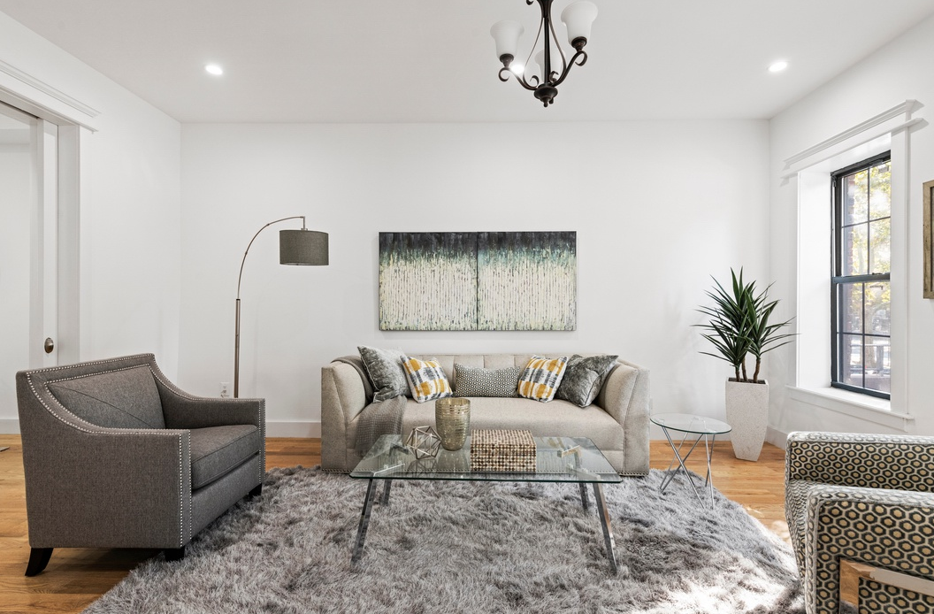 207 HALSEY STREET - $1,750,000 // 5 Beds // 3.5 Baths // 2,195 SQFTraced with an array of sleek finishes and several outdoor spaces, this gut-renovated single-family townhouse is a portrait of contemporary Brooklyn charm.