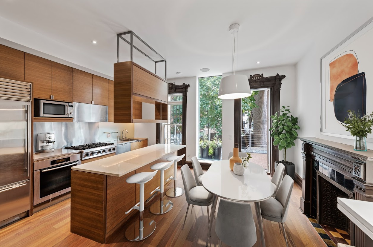 64 CLIFTON PLACE - RENTAL $7,930 // 3 Beds // 4 Baths // 2,320 SQFTWelcome home to your architectural masterpiece in the center of brownstone Brooklyn. This newly renovated brownstone owner's triplex in the heart of Clinton Hill features top-of-the-line finishes while at the same time boasts restored original detailing throughout that will take your breath away.