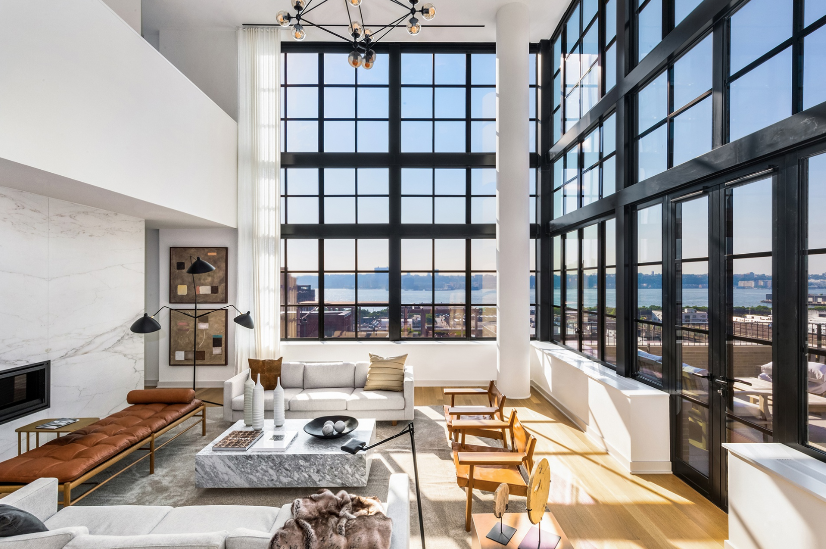 550 WEST 29TH STREET, PHC - $7,500,000 // 3 Beds // 3.5 Baths // 2,945 SQFT // 365 EXSFIntroducing SoHY | South of Hudson Yards, a brand new West Chelsea condominium nestled between the High Line and the Hudson River. Beneath a striking façade of limestone Roman bricks interspersed with massive metal casement windows, the building contains 19 stunning 3- and 4-bedroom units of remarkable quality and craftsmanship. Designed by Tamarkin Co., it is a testament both to the industry of the neighborhood's past and the vibrancy of the present and beyond.