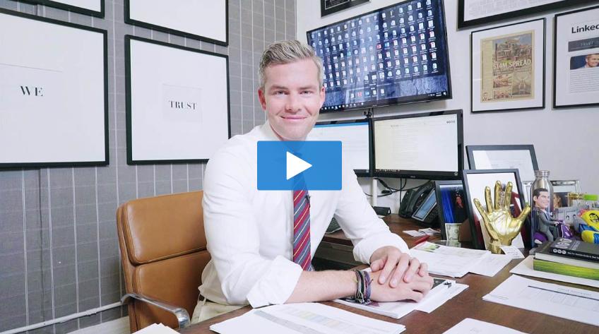 """Peek Inside Ryan Serhant's 'Million Dollar' Office"" - - NBC NEWS"