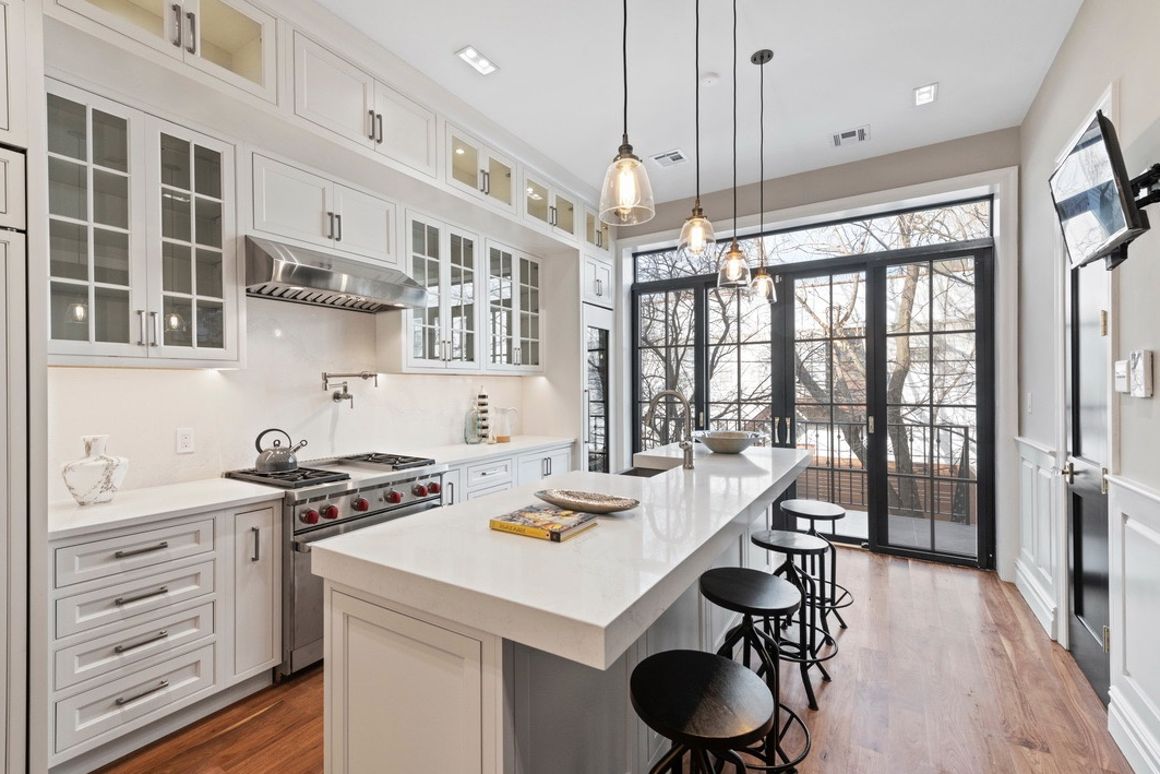 47 HERKIMER STREET - $2,990,000 // 5 Beds // 4.5 Baths // 3,050 SQFT // 1,750 EXSFA gut-renovated 2-family townhouse boasting an array of high-end fixtures and finishes, 47 Herkimer is an exemplar of contemporary Brooklyn luxury and charm. Every inch of this one-of-a-kind house, from plumbing and electric to wood framing and insulation, has been thoughtfully restored.