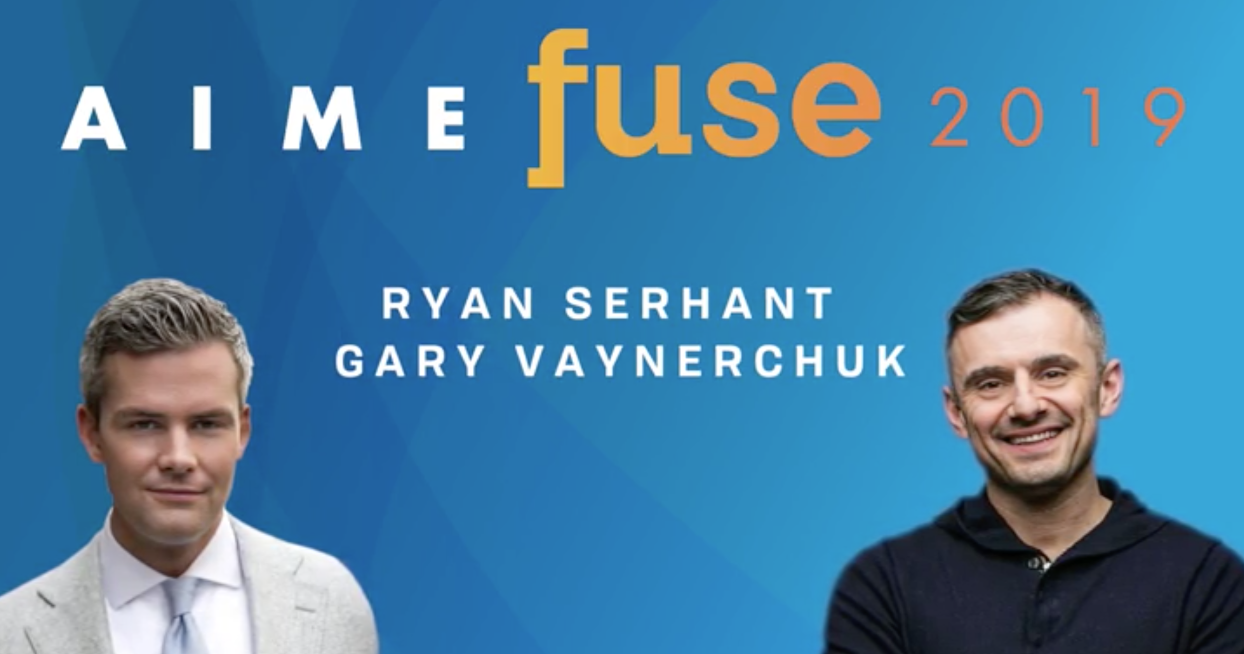 """Gary Vaynerchuk, Ryan Serhant bringing star power to AIME Fuse National Conference in October"" - - HOUSINGWIRE"
