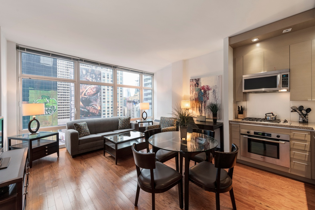 1600 BROADWAY, 19D - $950,000 // 1 Bed // 1 Bath // 775 SQFT // 60 EXSFThis prestigious 2-bedroom, 1-bathroom apartment is nestled in prime Park Slope. Oversized and welcoming with generously proportioned rooms, original moldings, parquet and herringbone floors, this apartment is truly one of a kind! The classically white kitchen with Bosch dishwasher opens into the spacious living room by way of the open eat-in peninsula. This space provides a wonderful opportunity for entertaining drenched with sunlight!