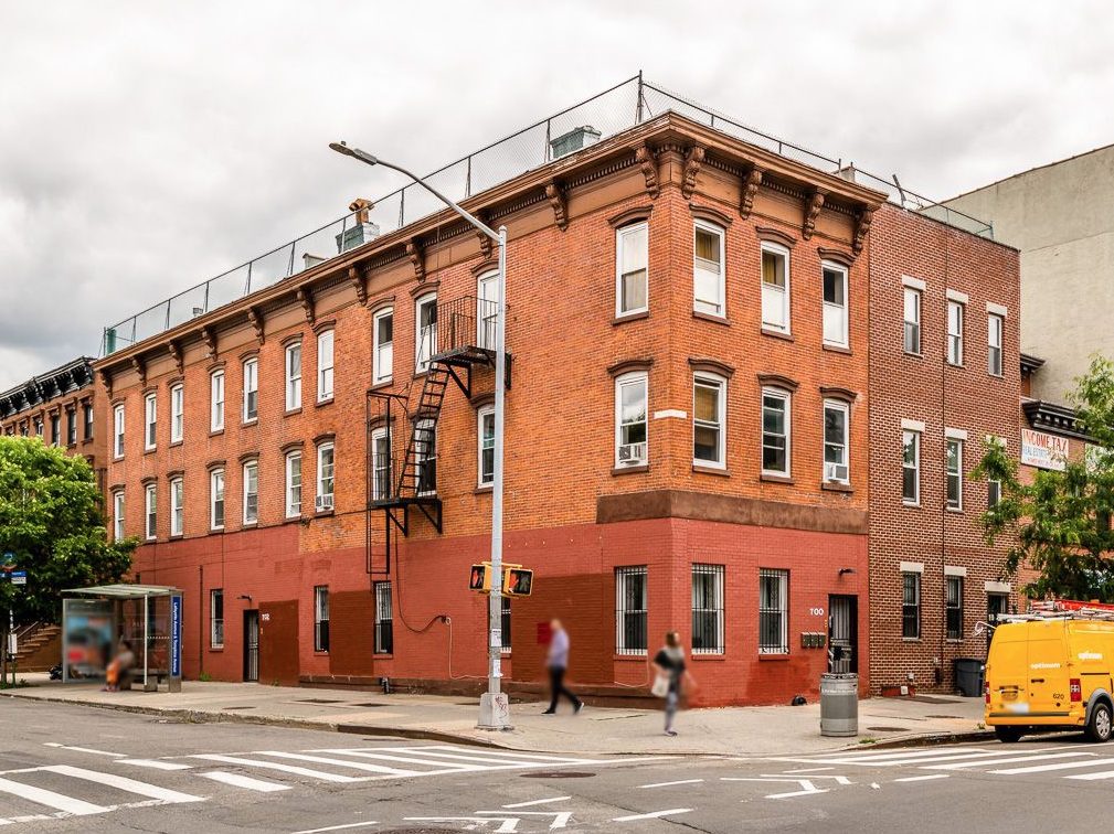 702 LAFAYETTE AVENUE - $1,549,000 // 8 Beds // 6 Baths // 2,920 SQFTA three-story, three family nestled across the street from Herbert Von King Park, 702 Lafayette is an incredibly rare opportunity to own in the heart of Bedford-Stuyvesant. The building is 20X46 with an 8 foot extension on the first floor. It features a renovated owner's duplex and two additional units. Perfect for a large family or home office right off the corner of Tompkins. Projected income of $104,400 a year and a cap rate of 5.70%. This building is perfect for 1031 exchange buyers.