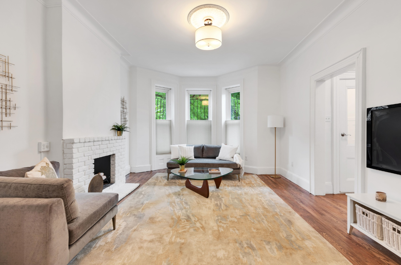 383 HAWTHORNE STREET - $1,595,000 // 6 Beds // 3 Baths // 2,450 SQFTBoasting contemporary finishes and a garden level rental unit, 383 Hawthorne is a charming 2-family townhouse located in the secluded neighborhood of Prospect Lefferts Gardens. The house rises 2 stories with a walk-in rental unit and has a fenced, 2-car parking area.