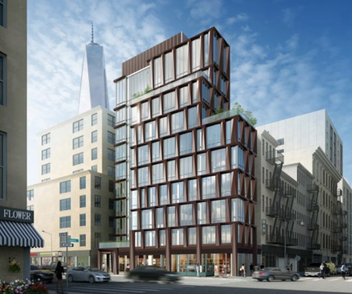 """""""SALES LAUNCH AT 108 CHAMBERS STREET, IN TRIBECA"""" - - NEW YORK YIMBY"""