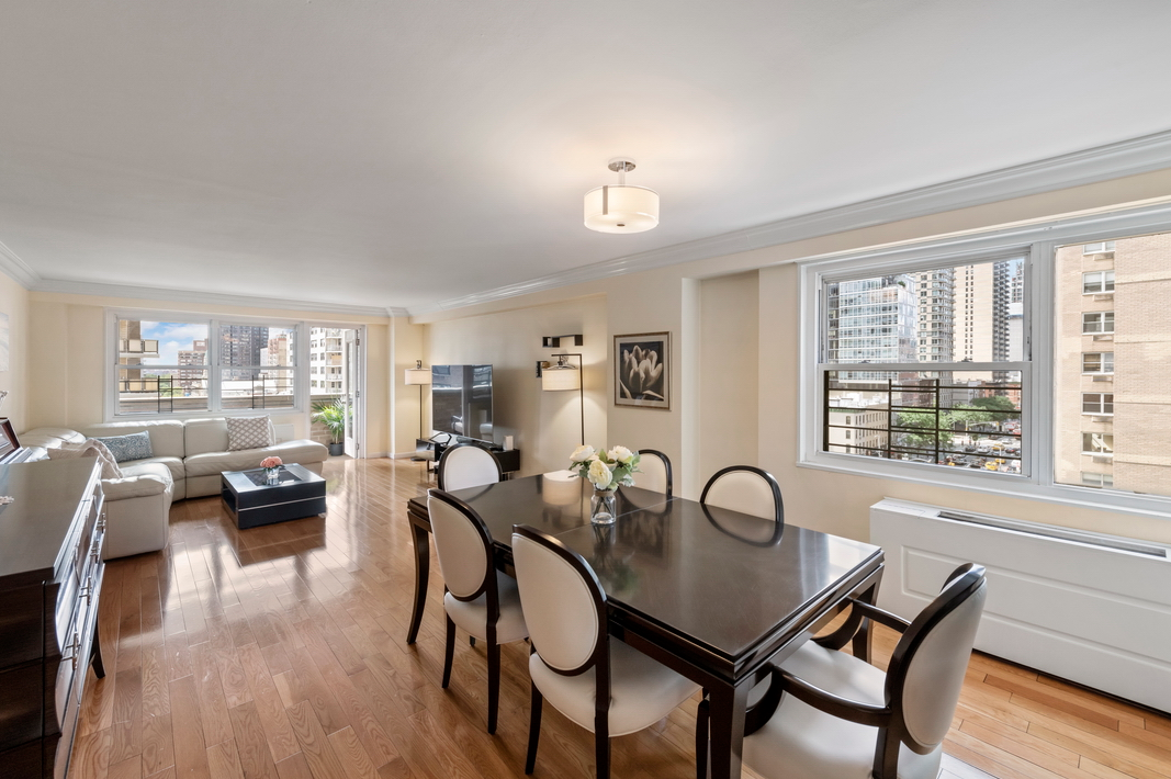 245 EAST 87TH STREET, 10FG - $2,395,000 // 4 Beds // 3 Baths // 2,300 SQFTA gorgeous and Uber spacious 2300sqft, recently renovated 4-bedroom, 3-bathroom home that defines Upper East Side living. Features of this bright and quiet apartment include beautiful hardwood floors, large windows with eastern, western, and southern exposure, an abundance of closet space, an in-unit Bosch washer/dryer, private windowed home office, and a picturesque east-facing terrace with city views.