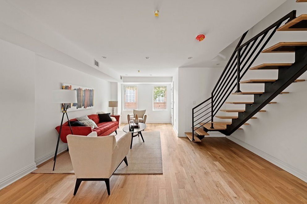 199 HALSEY STREEY - $2,650,000 // 7 Beds // 4.5 Baths // 3,600 SQFTA brand new two-family townhouse boasting contemporary finishes and an income-producing rental unit, 199 Halsey Street is a chic portrait of contemporary Brooklyn living. Features of the home include a lovely redbrick façade, gorgeous hardwood floors, a finished cellar with a powder room, a sublime owner's triplex, and multiple outdoor spaces, and a lush backyard with new fencing and an integrated sprinkler system.