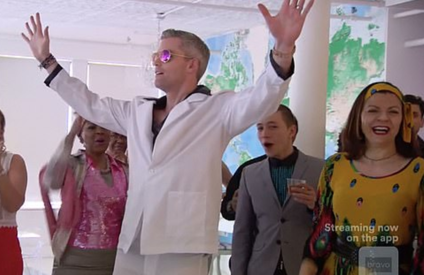 """""""MDLNY: Fredrik Eklund and Ryan Serhant dance-off to disco at open house"""" - - DAILY MAIL UK"""