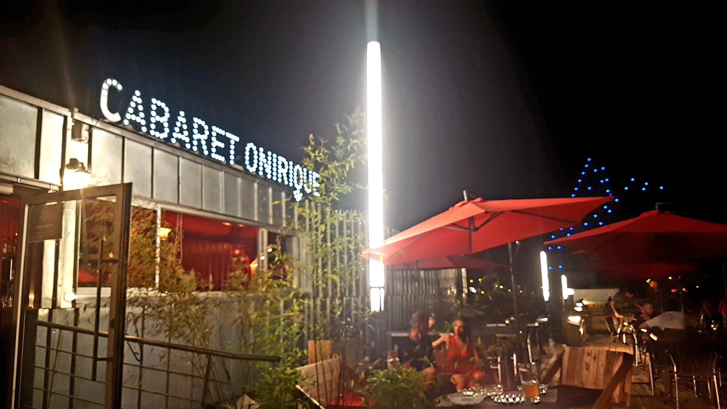 Ouverture du Bar Onirique et petite restauration maison du mercredi au dimanche à partir de 17h .