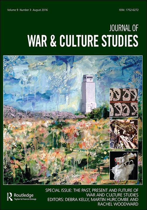Reconceptualizing Cultures of Remote Warfare - Special Issue of Journal and War & Culture Studies 11:1 (2018)Co-Edited with Rebecca A. AdelmanThis special issue of The Journal of War and Culture Studies maintains that there is more to be said about remote warfare, and the three essays contained herein develop new, more substantive and productive ways of thinking about remoteness in warfare by opening up uncharted critical spaces in which to reflect on it and, more specifically, its cultural origins, consequences, and enmeshments.