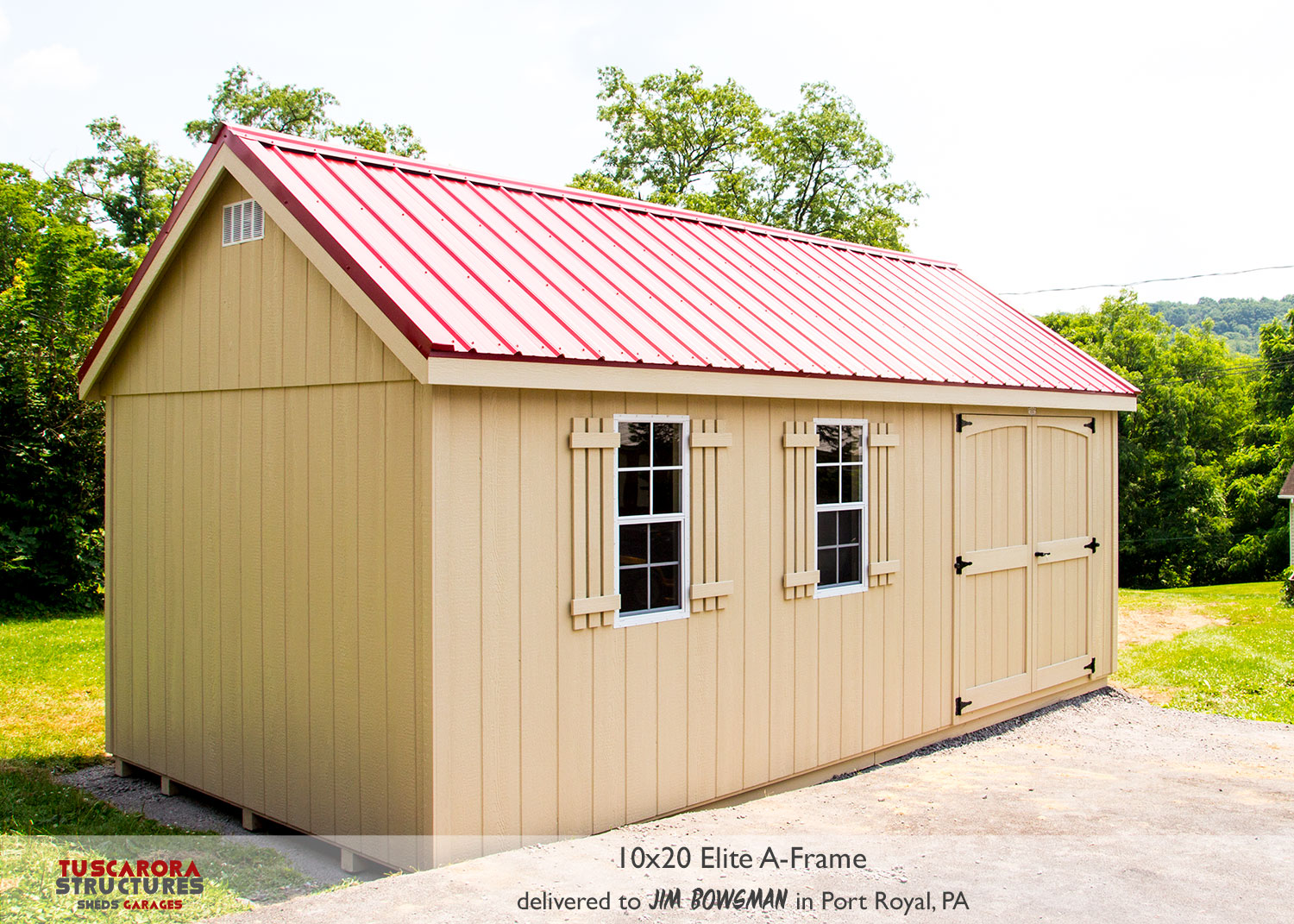 Mini Barns | Storage Sheds — Tuscarora Structures Inc  | Online Store