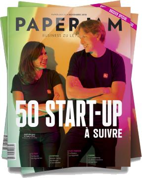 Paperjam magazine cover - November 2018