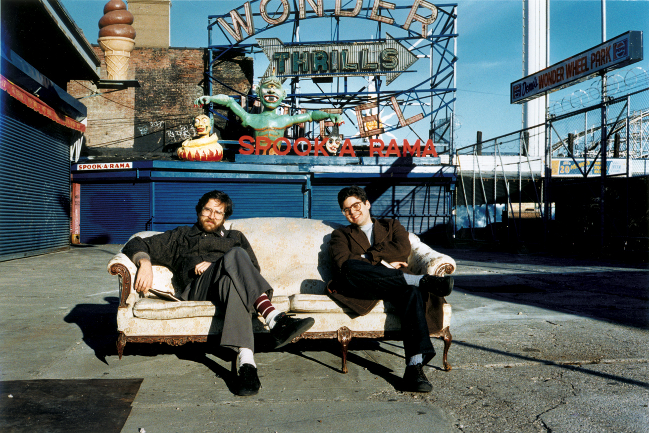 Paul and Mark, Coney Island, NY, c.1988.