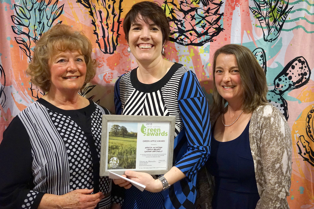 Tanya Beard, Krista McIntosh & Sarah Whitfield | Green Apple Award