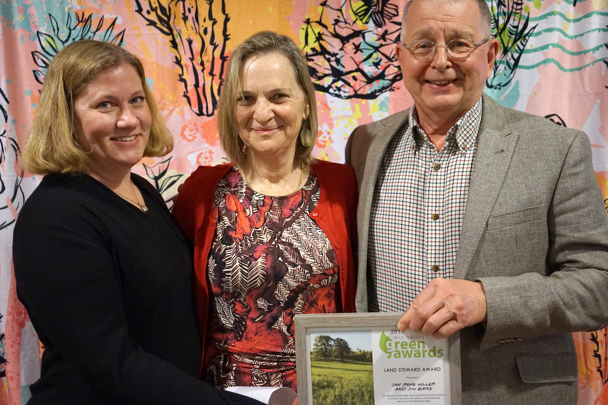 Jan Irene Miller & Jim Bayuk | Land Steward Award