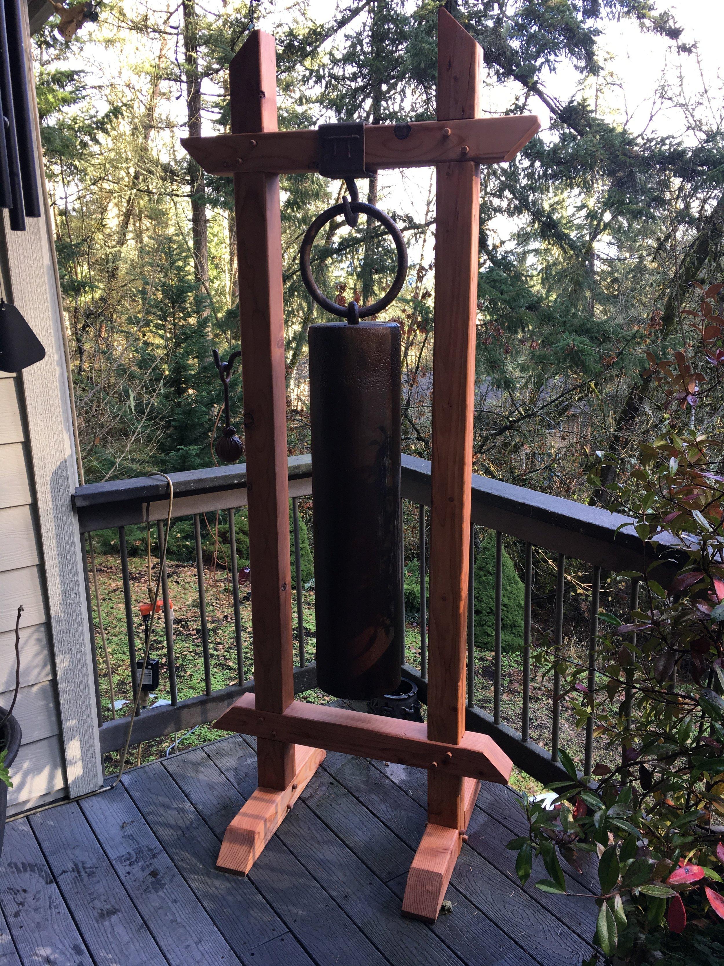 Custom Large Antique Bellholder - Design and Construction