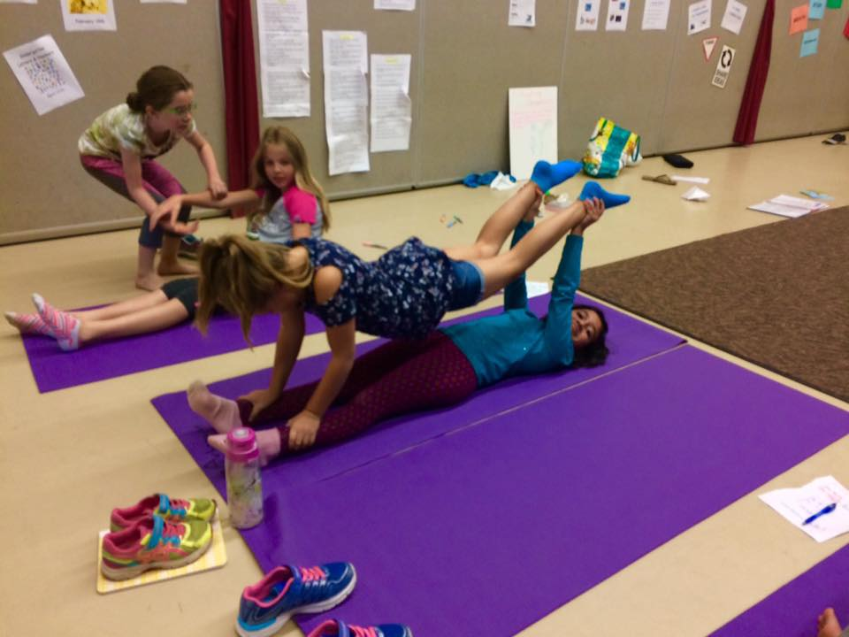 Learning to engage the core and activate shoulder/arm strength!