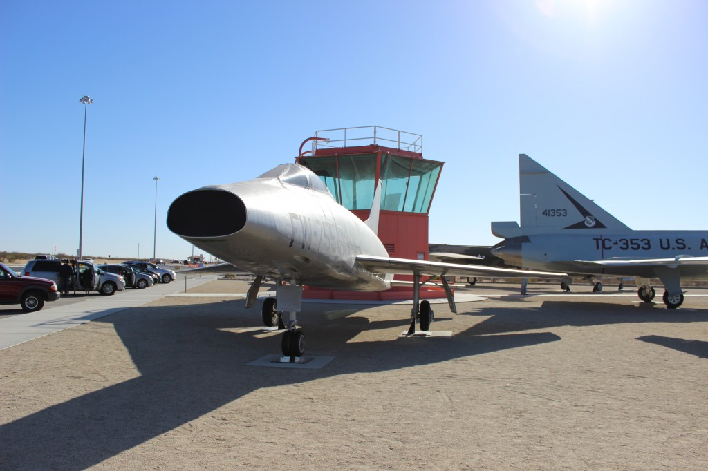 F-100 Super Sabre at Edwards AFB
