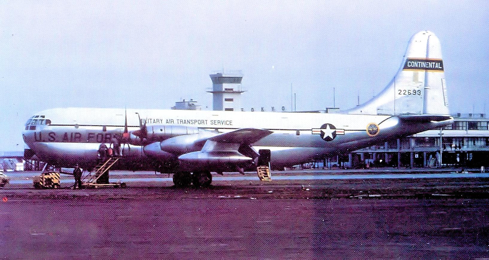 YC-97J Boeing