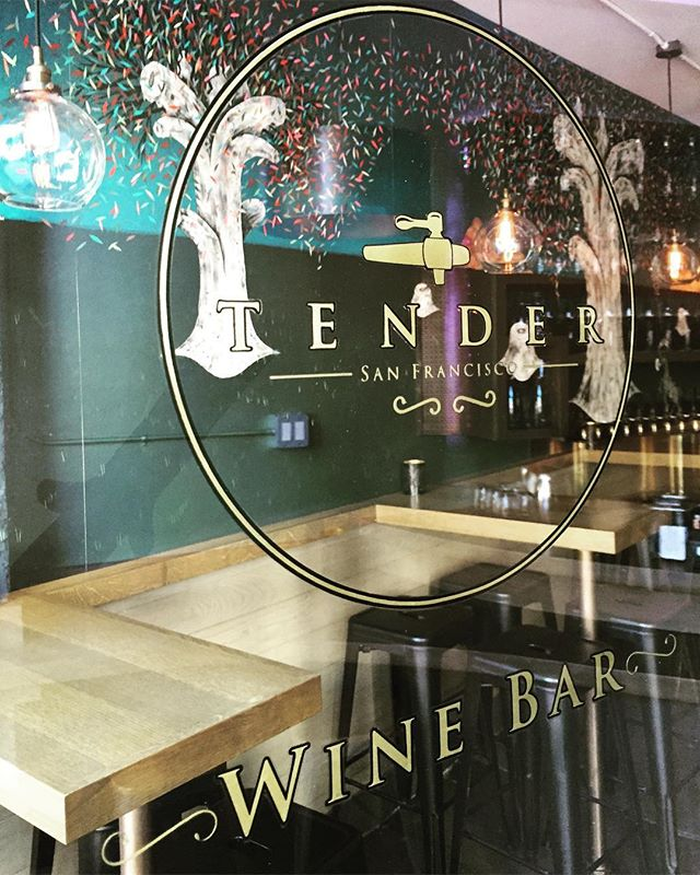 Beat the heat! Pop into @tendersf to enjoy our refreshing wines on tap, board games, and local art. • • • • #wine #winetasting #winebar #wineontap #cheers #summer2017 #tenderloin #sanfrancisco #bayarea #westcoast