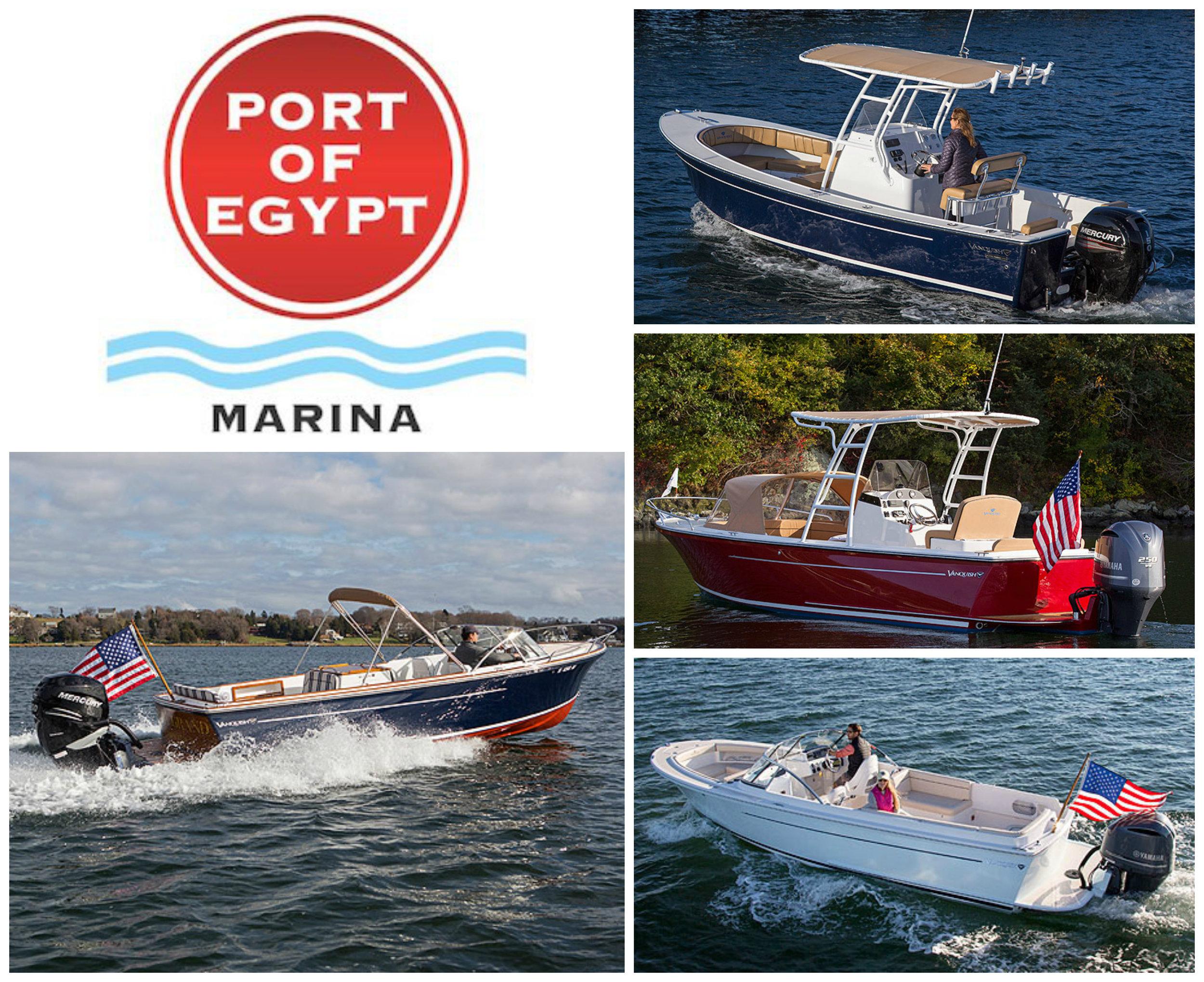 Vanquish Boats Collage
