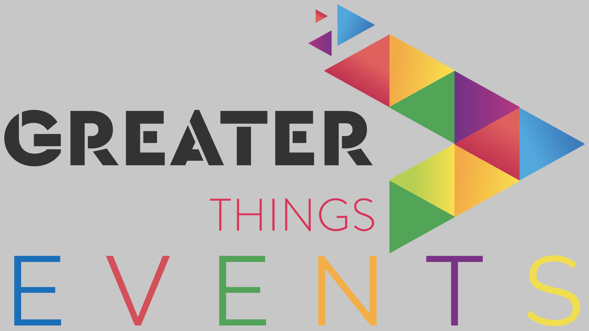 Greater Things offers innovative events around the country. Click here for a list of events and details.