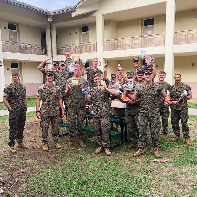 In the light of Veterans Day, we would like to highlight the CAAT platoon, weapons company, first battalion, Third Marine Regiment. Last semester, we had the great opportunity to put together care packages for them with the help of our prior VPCS @theydoanknow ,our chapter, and friends and family from the Fairfax area! Special shoutout to @maxwellsoswell for sending the care packages! . . . . . Thank you for your service and Happy Veterans Day! 🇺🇸