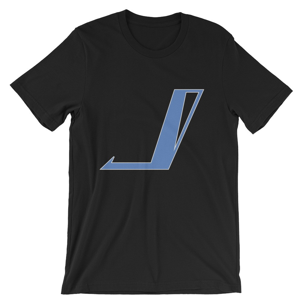 "Jake Jetpulse ""Hero"" Symbol Tee   Jake Jetpulse is more than a superhero. He is a symbol of equality and hope. Suit up and protect the world in style with authentic Jetpulse Comics apparel.  Price $25.00"